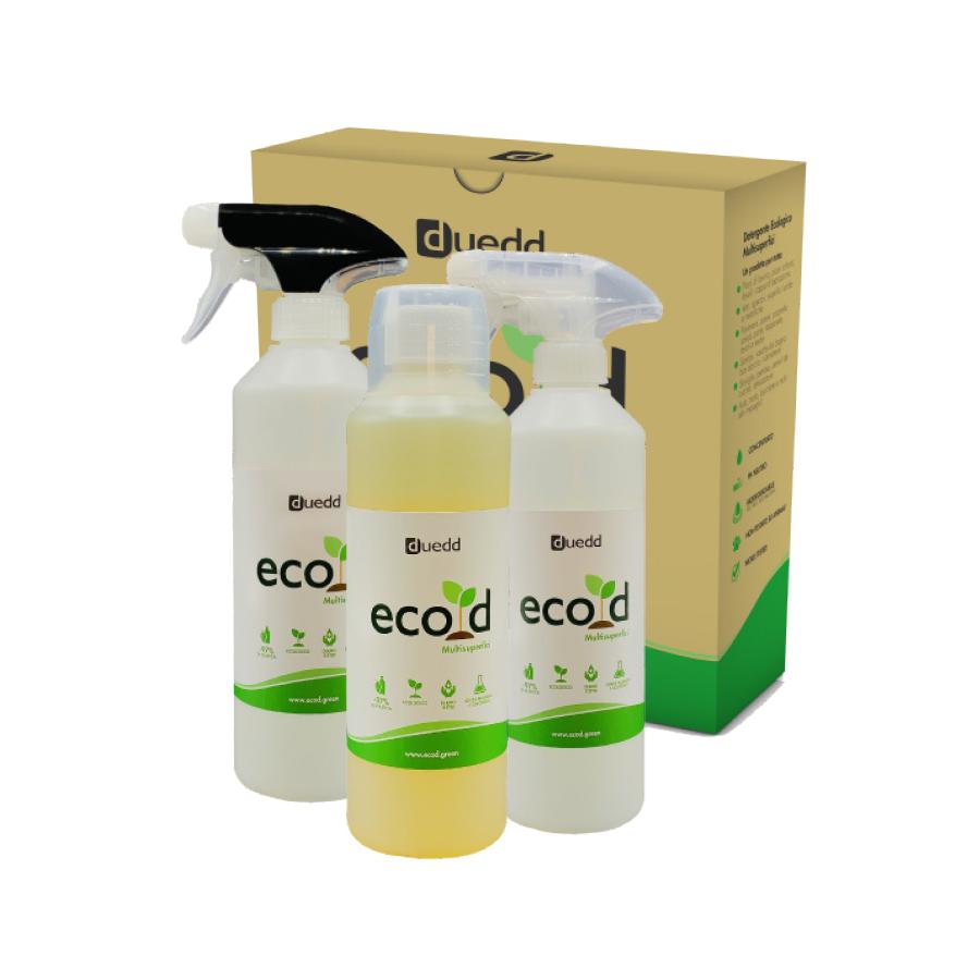 Eco d - Detergente multisuperfici con diluitori