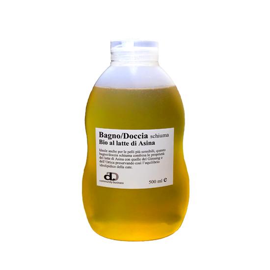Bagno/Doccia al latte d'asina biologico